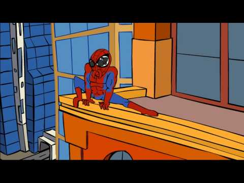 The Amazing Spiderman parody (Spider man parody cartoon)
