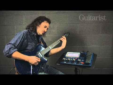 Roland GR-55 video review demo Guitarist Magazine HD