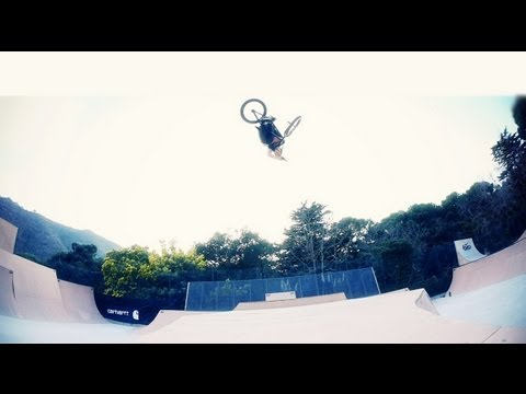 CARHARTT BMX - MIKE MILLER CHILLIN' IN SPAIN