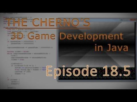 Episode 18.5 - Creating an EXE File in Java :: 3D Game Programming in Java -ucW3mBoTyTw