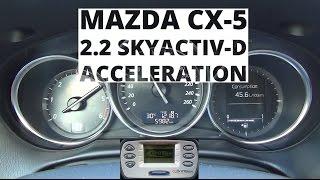 Mazda CX-5 2.2 SKYACTIV-D 175 KM - acceleration 0-100 km/h