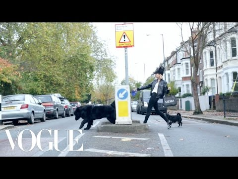 Leads a Completely Normal Life. We Swear - Vogue Ad