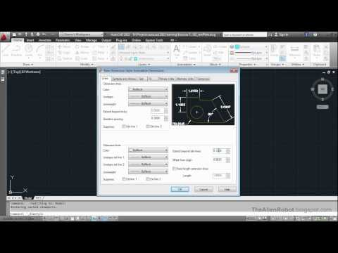 AutoCAD 2012 Introduction Training-1602 Annotative property to automatically size dimensions