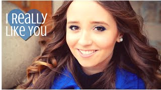 I Really Like You - Carly Rae Jepsen (Cover by Ali Brustofski) Official Music Video