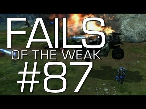 Halo: Reach - Fails of the Weak Volume 87 (Funny Halo Bloopers and Screw-Ups)