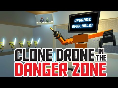 Titanium Level 21 and All Upgrades! - Clone Drone in the Danger Zone Gameplay - UCK3eoeo-HGHH11Pevo1MzfQ