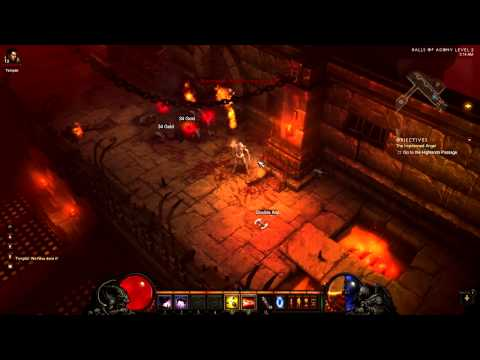 [Diablo 3 Walkthrough] Demon Hunter - Act 1 - Part 21 - Halls of Agony Level 2