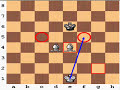 Фрагмент с начала видео - Checkmate with Two Bishops