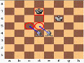 Фрагмент с средины видео - Checkmate with Two Bishops