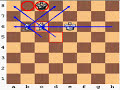 Фрагмент с конца видео - Checkmate with Two Bishops