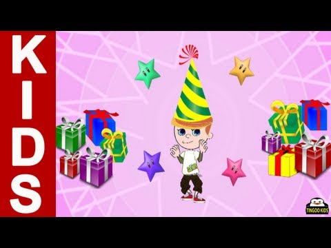 Happy Birthday Song | nursery rhymes in English with lyrics