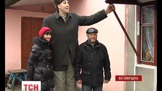 На Житомирщине попрощались с самым высоким жителем планеты Леонидом Стадником