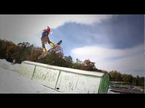 Wild Mountain Ski Area Opening Day October 7th 2012 - FIRST IN NORTH AMERICA!