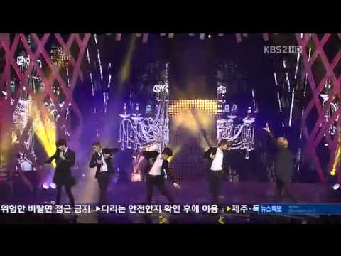 FullCUT 120830 MBLAQ This is War on 2012 Seoul Drama awards