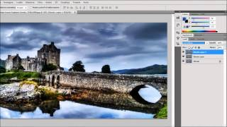 Adobe Photoshop CS5 Tutorial - HDR effect from one photo - DanyDroidTV