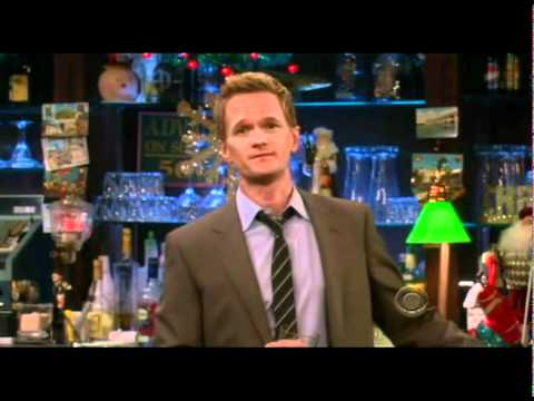 Barney Stinson's Xmas message