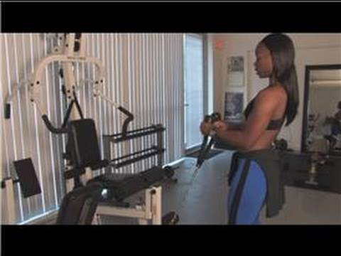 Exercise & Fitness Tips : How to Use Weight Lifting Machines
