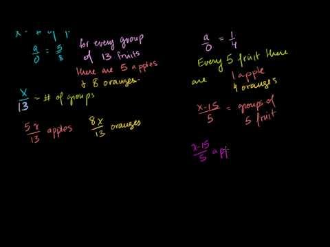 Problemi sui Rapporti piu' avanzati - con Algebra (Versione HD)