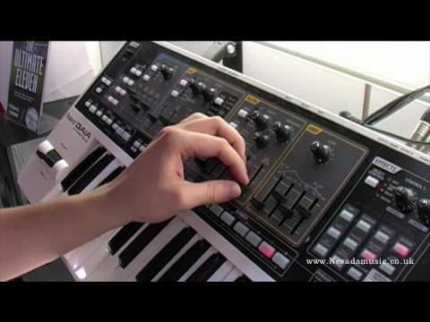 Roland GAIA SH-01 Synth Demo - Nevada Music UK