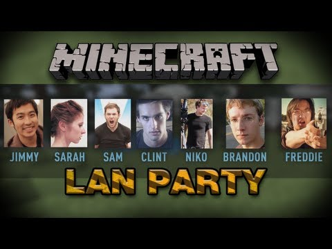 LAN PARTY - Minecraft (Part 1)