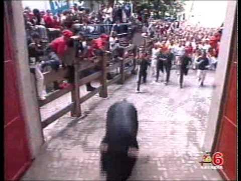 Segundo Encierro San Fermín 8 julio 2007. CANAL 6 NAVARRA