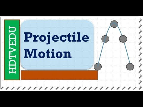 1 of 8 | HDTVEDU | Projectile Motion | Maximum Height I Physics | Experience Success | 1758