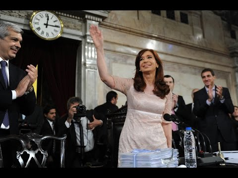 <b>Cristina Fern�ndez. </b>Apertura del 133� per�odo de sesiones en el Congreso.