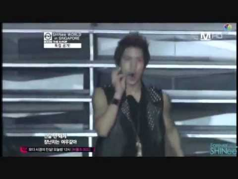SHINee Juliette @ Mnet Boom the Kpop SWCSG 111006