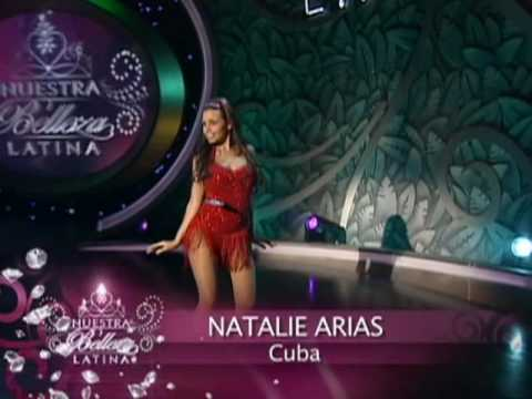 Pruebas de talento individual en Nuestra Belleza Latina