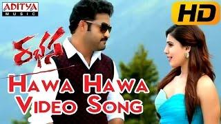 Hawa Hawa Full Video Song || Rabhasa
