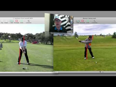 Golf Swing Lesson Backswing Downswing