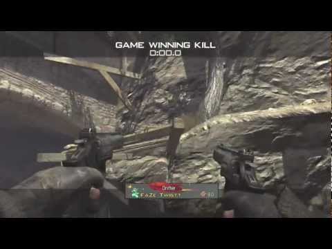First Trickshot Killcam on new MW3 Map 'Sanctuary' - by FaZe Twistt -usmdTq9Ap-8