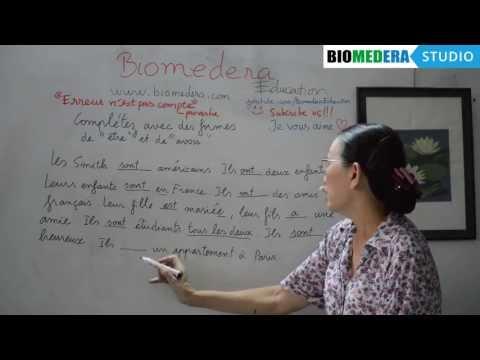 Bài 36: Bài tập vận dụng động từ tiếng Pháp être và avoir [Tiếp theo]