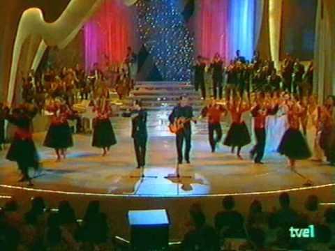 DÚO DINÁMICO canta RESISTIRÉ (TVE, Noche de fiesta, junio 1999)