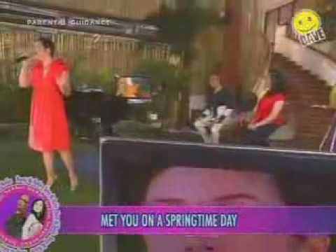 Regine Velasquez Guesting on Boy & Kris (Part1)