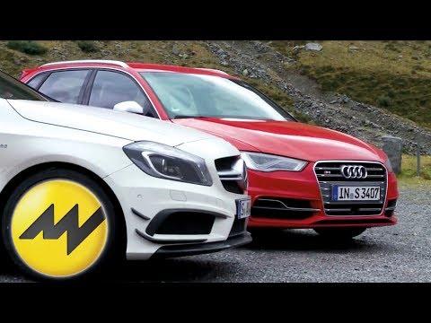 Audi S3 gegen Mercedes A45 AMG