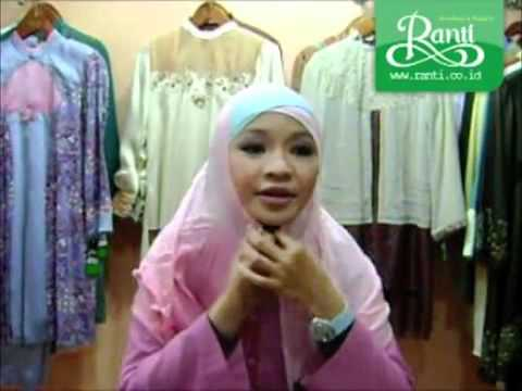 Ranti Tips Part 1 - Cara Memakai kerudung yang Simple dan Cantik