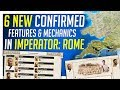 6 New Confirmed Features in Imperator: Rome - Dev Diary 12-17