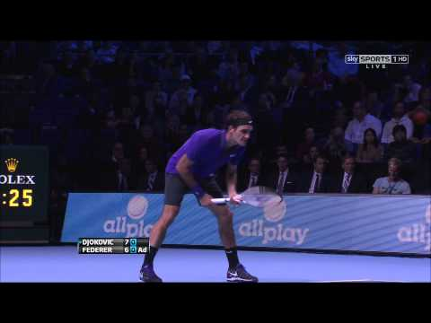 Novak Djokovic Vs. Roger Federer | 2012 ATP World Tour Finals F | FULL Match (1080p HD)