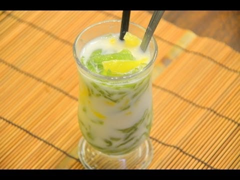 How to Make Lod Chong Singapore(Cendol) ลอดช่องสิงคโปร์