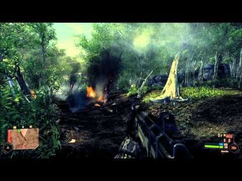 "Nvidia GeForce GTX 590 - Crysis Warhead Gameplay Test - Maximum ""Enthusiast"" Settings"