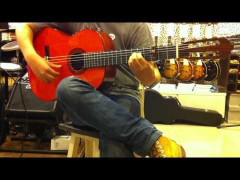 AER AK-15 Pick Up Test on Flamenco Guitar (Tango) HD