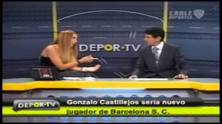 Gonzalo Castillejos podría llegar a ser nuevo jugador de Barcelona para la temporada 2013