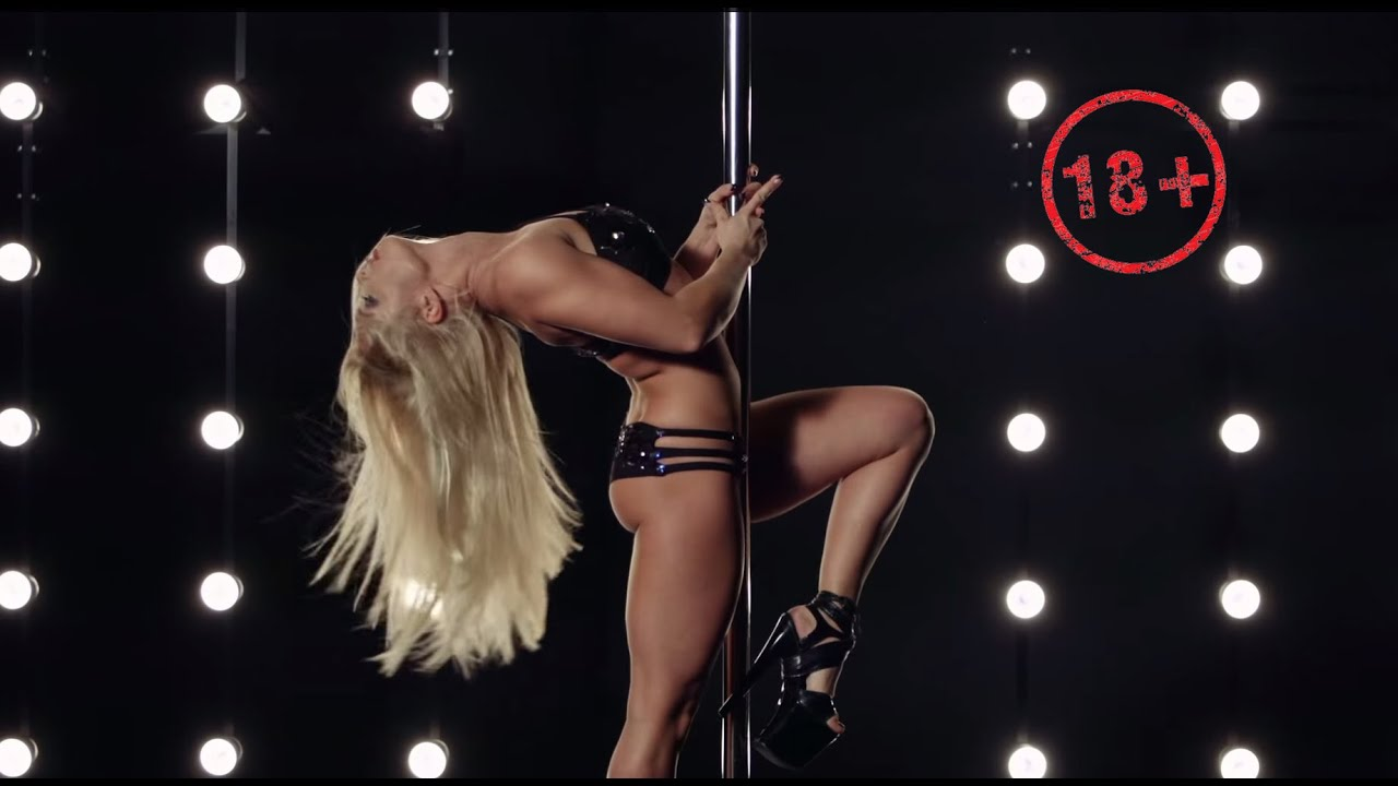18+ Pole Dance - Anastasia Sokolova - Authors pole dance tricks - New 2015