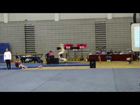 Mia Fowler 2011 Level 8 gymnastics floor routine