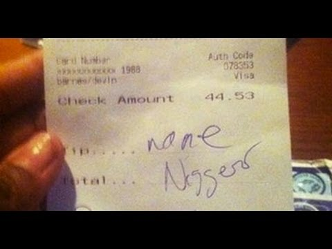 Red Lobster Suspends Waitress Who Received 'None, Nigger' As Tip
