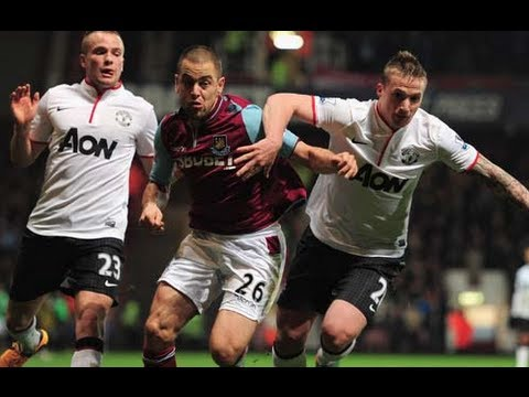 West Ham United 2-2 Manchester United | The FA Cup 3rd Round 2013