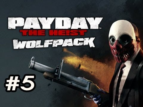 PayDay The Heist WOLFPACK DLC Ep.5 w/Nova, SSoH & Danz - DALLAS VS SWAT GUY