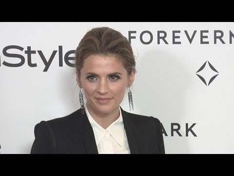 Stana Katic at Forevermark And InStyle Golden Globes 2012 Event EXCLUSIVE