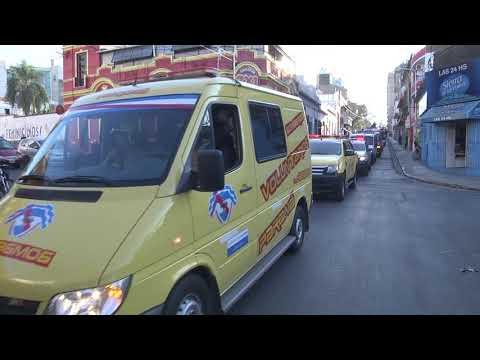 Caravana por el Día Nacional del Bombero Voluntario